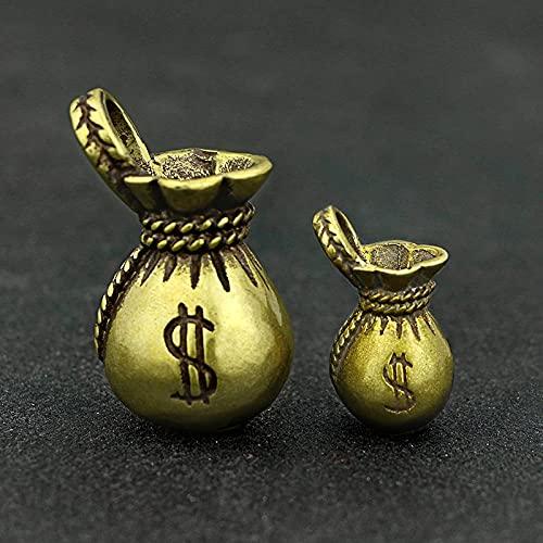 WOREX skulptur modern Geldbeutel Schlüsselanhänger Hängende Anhänger Schmuckstück Geldbeutel
