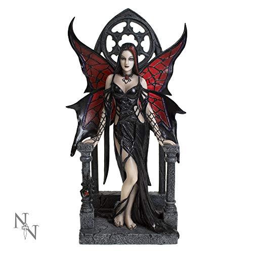 Nemesis Now Figur Aracnafaria schwarz 28cm