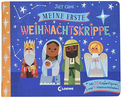 Meine erste Weihnachtskrippe: Mit 20 Krippenfiguren und 4 Weihnachtsliedern
