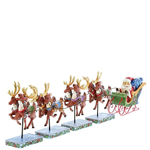 Heartwood Creek Dash Away All (Mini Santa & Reindeers Set)
