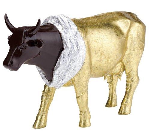 Vaquita de Chocolat (L) - Cowparade Kuh - Resin, 30x20cm