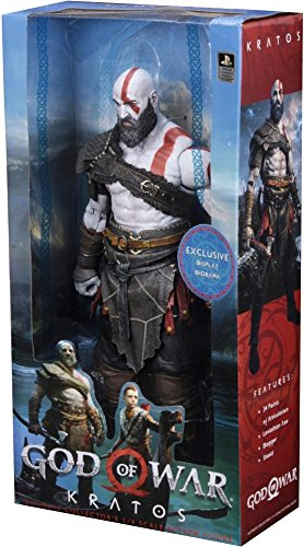 Neca God of War 18' Actionfigur Kratos 1/4 Scale