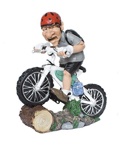 Funny Jobs Berufsfigur Comicfigur Figur Mountainbiker Radfahrerer witzig der Reihe