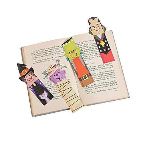 Lesezeichen Halloween, laminiert, 48 Stück