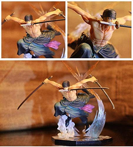 Buzhidao Cheaaff One Piece Anime Figur New World Roronoa Zoro Strohhut Classic Battle PVC...