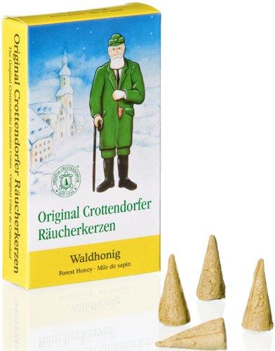 Rudolphs Schatzkiste Räucherkerzen Räucherduft Crottendorfer Waldhonig 24 St. Räucherkerzen...