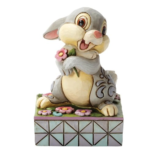 Enesco 4032866 Figur Disney Tradition, Spring Has Sprung Thumper , 10,8 x 10,8 x 15,2 cm