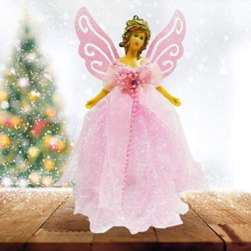 Weihnachtsdekoration Schnee Engel Puppe Anhänger Christbaumschmuck für den Weihnachtsbaum...