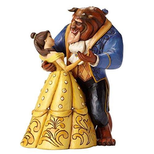 Disney Tradition Moonlight Waltz (Belle & Beast Dancing Couple 25th Anniversary Figur)