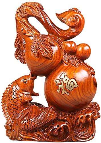 Mxchen Chinesische Feng Shui Statue Geschnitzte Kürbis-Ornamente Handgemachte Kunst...