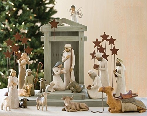 Susan Lordi Willow Tree Willow Tree Krippe-Komplett-Set 4
