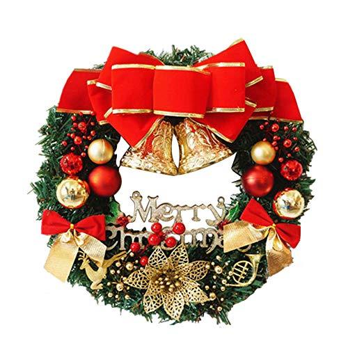 Sayla Weihnachten Dekoration Kreativ Weihnachten Türkranz Weihnachten Dekoration Weihnachtsgirlande...