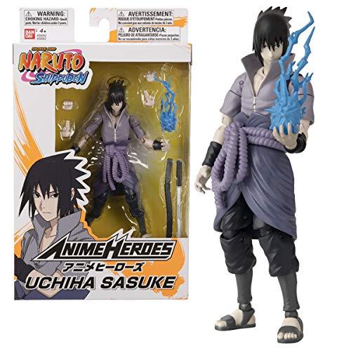 Anime Heroes – Naruto Shippuden – Anime Heroes Figur 17cm – Sasuke Uchiwa – 36902