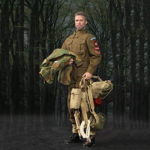 MXUS 1/6 Actionfigurenworld War II Militärsoldat Spielzeugstatuenmodell Handgemachte Sammlung...