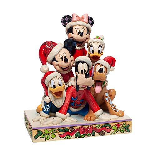Piled High with Holiday Cheer (Mickey and friends) Disney Traditions Figurine [UK-Import]