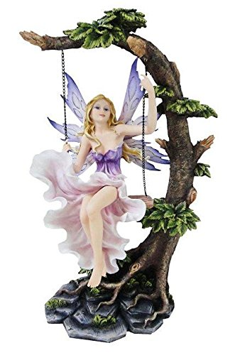 Fee Summerswing auf Schaukel Figur Elfe Fairy Engel