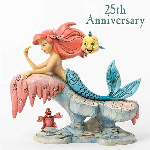 Disney Tradition 4037501 Ariel Figur Dreaming Under The Sea, 17,8 x 10,8 x 15,9 cm
