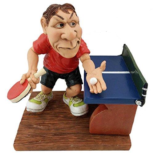 Joh.Vogler GmbH Funny Sports - Tischtennisspieler Blaue Platte und rotes Dress