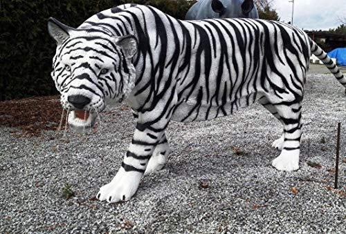 XXL Tiger LEBENSGRÖSSE~LÖWE Deluxe Gartendeko ca.220cm~Gartendekoration~DEKO~NEU