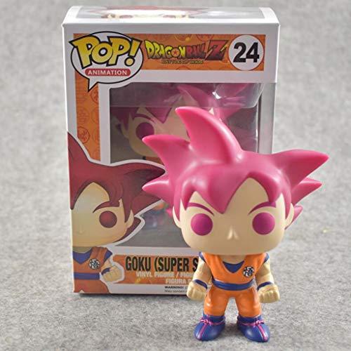 LTY YHP Son Goku Super Saiyan Gott Figure Dragon Ball Super Manga Anime Exquisite Figur POP Sammler...