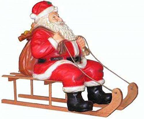 Weihnachtsmann auf Schlitten - Weihnachtsfiguren - WN034