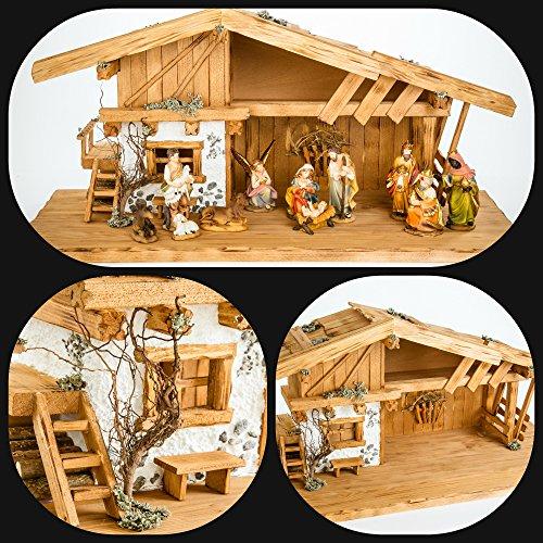 Holz und Gartentrends Weihnachtskrippe Krippe Krippenstall Weihnachten Weihnachtskrippen...