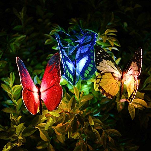 Qualife Solarleuchte Garten, Solarlampen Für Außen, Garten Dekoration, Garten Geschenke, Balkon...