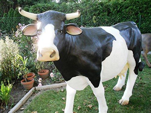 XXL Kuh~Premium Deluxe Gartendeko LEBENSGROSS ca.230 cm ~Gartendekoration Figur DEKO