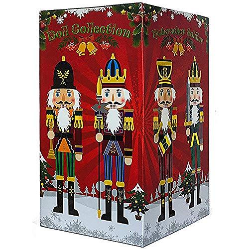 Nussknacker Figuren Christbaumkugel Soldat Puppenbaum Geschenkbox Frühling Land 30cm Dekofigur...