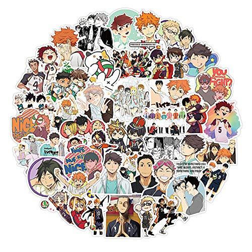 IUTOYYE Anime 100 Stück Aufkleber Manga Cosplay High School Sticker (100Stück)