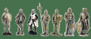 Figurengruppe Ritter