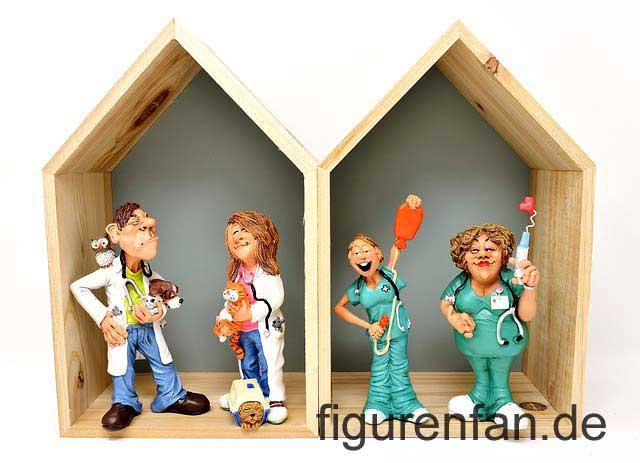 Figurengruppe Ärzte Krankenschwester