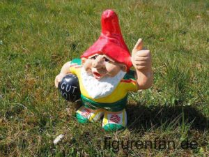 Gartenzwerg Figur Gut Holz Kugel