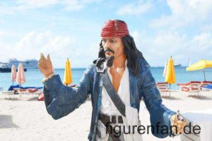 Piraten Figur lebensgroß