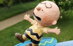 Charlie Brown Skateboard