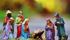 Die Weihnachtskrippen Figuren