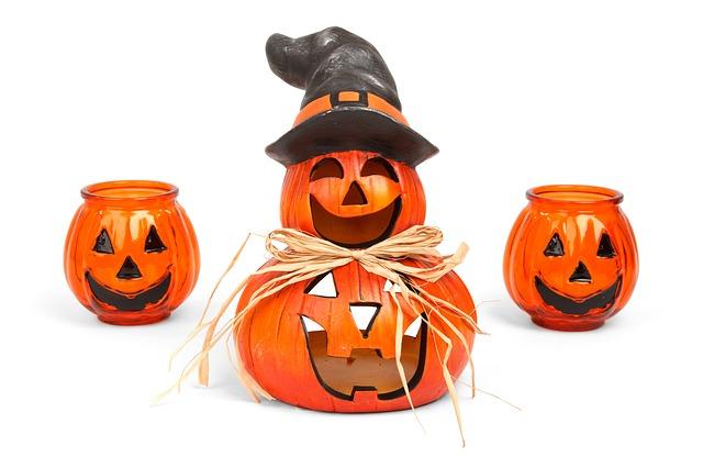 Halloween Kürbis Figur