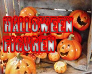 Kürbisse als Halloween Figuren