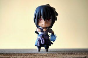 Eine Ninja Anime Figur