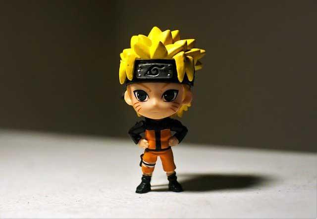 Naruto Figur klein