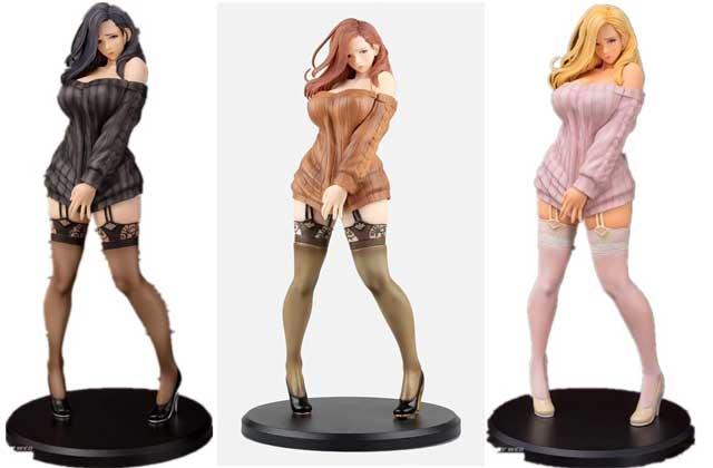 drei Erotikfiguren