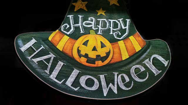 Halloween Schild